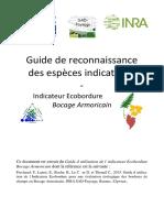 Guide reconnaissance flore espèces indicatives