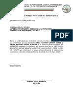 2. Carta Al Termino de Servicio Social