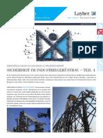De LayherInfo Industrie Projektsicherheit