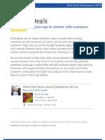 Create a Facebook Deal
