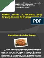 A Reprodução Social Propostas Para Uma Gestão Descentralizada-Ladislau Dawbor