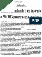 Edgard Romero Nava Factor Humano Ha Sido Lo Mas Importante en Pequiven Para Recuperacion - El Impulso 27.01.1988