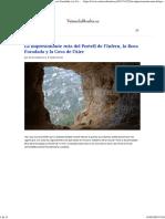 La Impresionante Ruta Del Portell de l'Infern, La Roca Foradada y La Cova de l'Aire