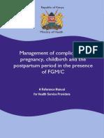 Kenya FGM Pregnancy