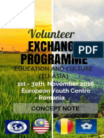 Concept Note - Volunteer Exchange Programme (Romania)
