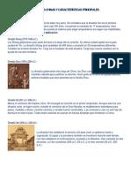 Dinastías Chinas y Características Principales