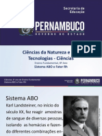 Sistema ABO e Fator Rh (1)