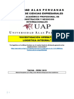 Investigacion Operativa Inicial