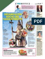 Organización Social en El Tahuantinsuyo