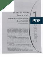 Capítulo 1 - Historia Das Relações Internacionais Contemporâneas