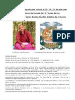 Curso Rimpoché 2019 a Coruña