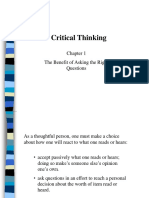 Critical Thinking - Chapter 1