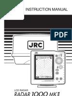 JRC RADAR 1000MKII Instruction Manual.pdf