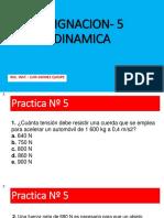 Asignacion- 5- Nueva 2019 ( Dinamica Lineal)