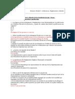 Test Ordenanzas Reglamentos y Bandos