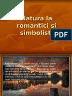 Natura la romantici si simbolisti