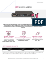 5600 Security Gateway Datasheet