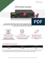 15400 Security Gateway Datasheet
