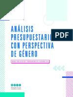 Guía - Análisis Presupuestario Con Perspectiva de Género
