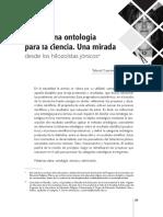 Pasar de una ontología a la ciencia.pdf