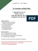 Auswanderer Briedel - Mosel -Liste