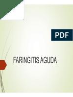 presentación faringitis aguda