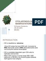 Otolaryngologicmanifestationsofhiv Aids 150209135236 Conversion Gate02(1) Converted