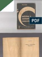 Libro Satíricos y Costumbristas Venezolanos