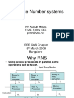 Residue Number Systems