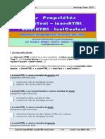 InnerText InnerHTML OuterHTML TextContent JavaScript EcmaScript HTML