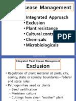 5 Plant Disease Management
