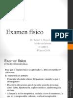 Examen Físico Estudiantes