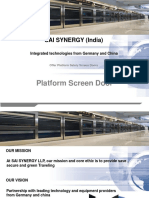 PSD Platform Screen Doors