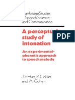 [Cambridge Studies in Speech Science and Communication] J. T. Hart, R. Collier, A. Cohen - A Perceptual Study of Intonation_ An Experimental-Phonetic Approach to Speech Melody (1990, Cambridge University Press).pdf