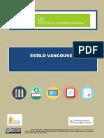 Universidad de Alicante - Estilo Vancouver (2019)