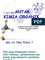 1. Kimia Organik Pendahuluan