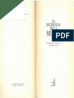 Weber - Sociologia Musica