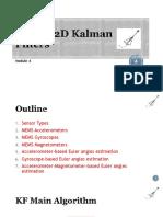 Module 4 - 1D Kalman Filters for Orientation