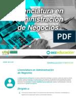 Licenciatura Administracion-negocios Plan-De-estudios Utel On