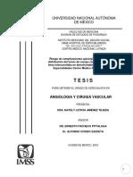 Tesis Angiología y Cirugía Vascular JTNL
