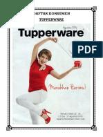 Cover Tupperware