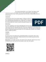 qr code assignment