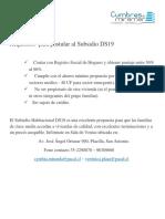 Requisitos Para Postular Al Subsidio DS19