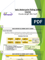 Basic Motorcycle Riding Safety Course 2019