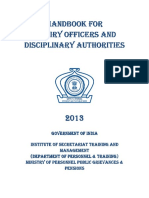 Handbook for Inquiry Officers and Disciplinary Authorities.pdf