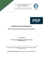 Globalisierung Und Wohlfahrtsstaat - F. Scharpf