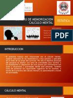 TECNICAS DE MEMORIZACION  CALCULO MENTAL.pptx