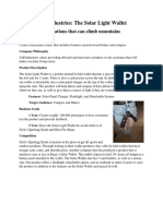 math 219-business plan one-pager