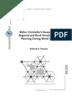 Richard E. Preston - Walter Christaller's Research (...)(2009, Paper)