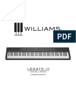 Williams Legato III Manual